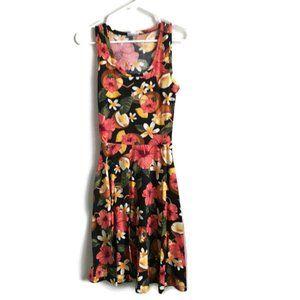 Size XXS Lularoe Nicki Floral Dress